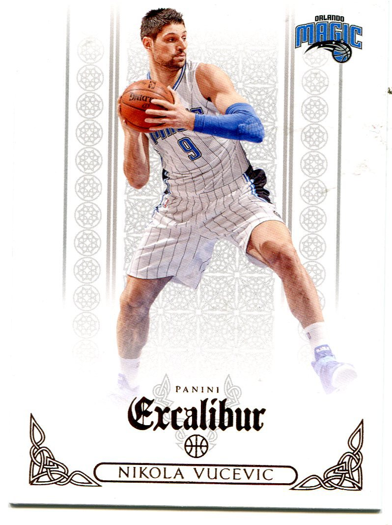 2014 Excalibur Basketball Card #3 Nikola Vucevic