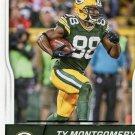 2016 Score Football Card #124 Ty Montgomery