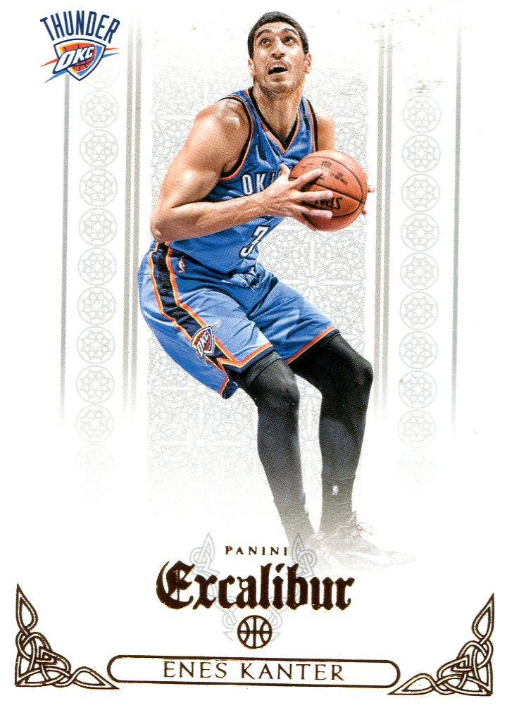 2014 Excalibur Basketball Card #128 Enes Kantor