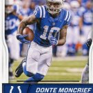 2016 Score Football Card #141 Donte Moncrief