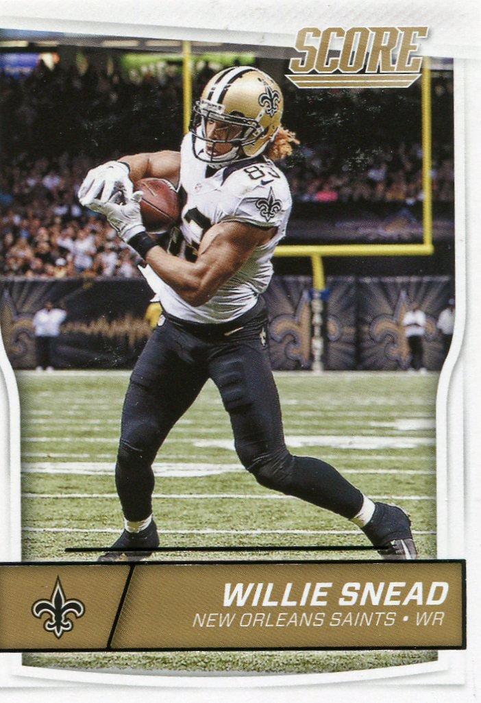 2016 Score Football Card #203 Willie Snead