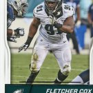 2016 Score Football Card #248 Fletcher Cox