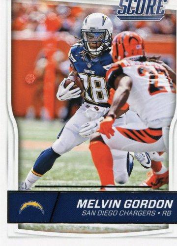 2016 Score Football Card #261 Melvin Gordon