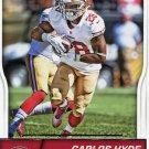 2016 Score Football Card #273 Carlos Hyde