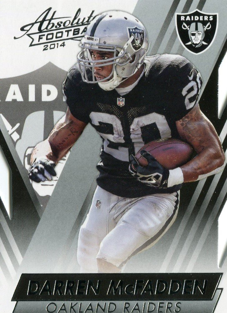 2014 Absolute Football Card #78 Darren McFadden