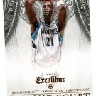 2014 Excalibur Basketball Card Knight Court #15 Kevin Garnett