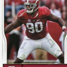 2016 Score Football Card #394 Jarran Reed