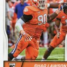 2016 Score Football Card #399 Shaq Lawson