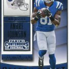 2015 Panini Contenders Football Card #32 Andre Johnson