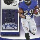 2015 Panini Contenders Football Card #49 Justin Forsett