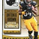 2015 Panini Contenders Football Card #59 Antonio Brown