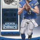 2015 Panini Contenders Football Card #63 Matthew Stafford