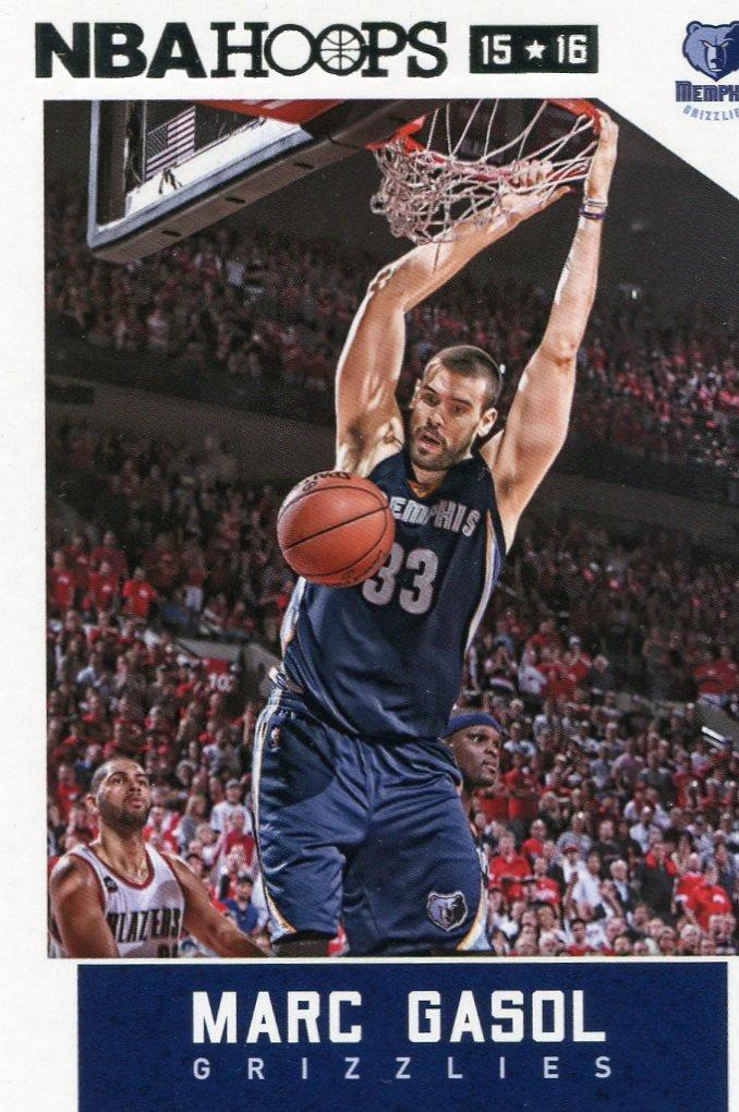 2015 Hoops Basketball Card #74 Marc Gasol