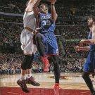 2015 Hoops Basketball Card #83 Jerami Grant