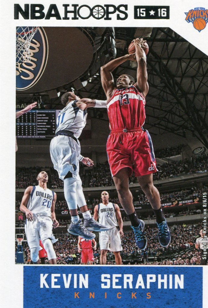 2015 Hoops Basketball Card #132 Kevin Seraphin