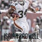 2015 Prestige Football Card #72 Isaiah Crowell