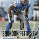 2015 Prestige Football Card #90 Brandon Pettigrew
