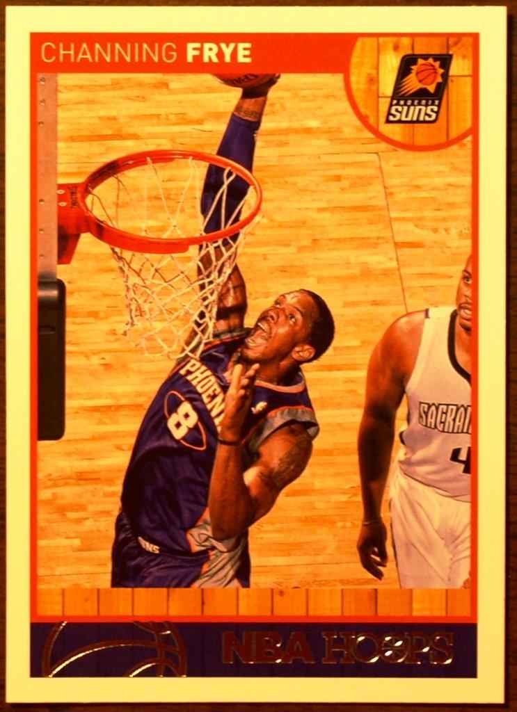2013 Hoops Basketball Card #36 Channing Frye