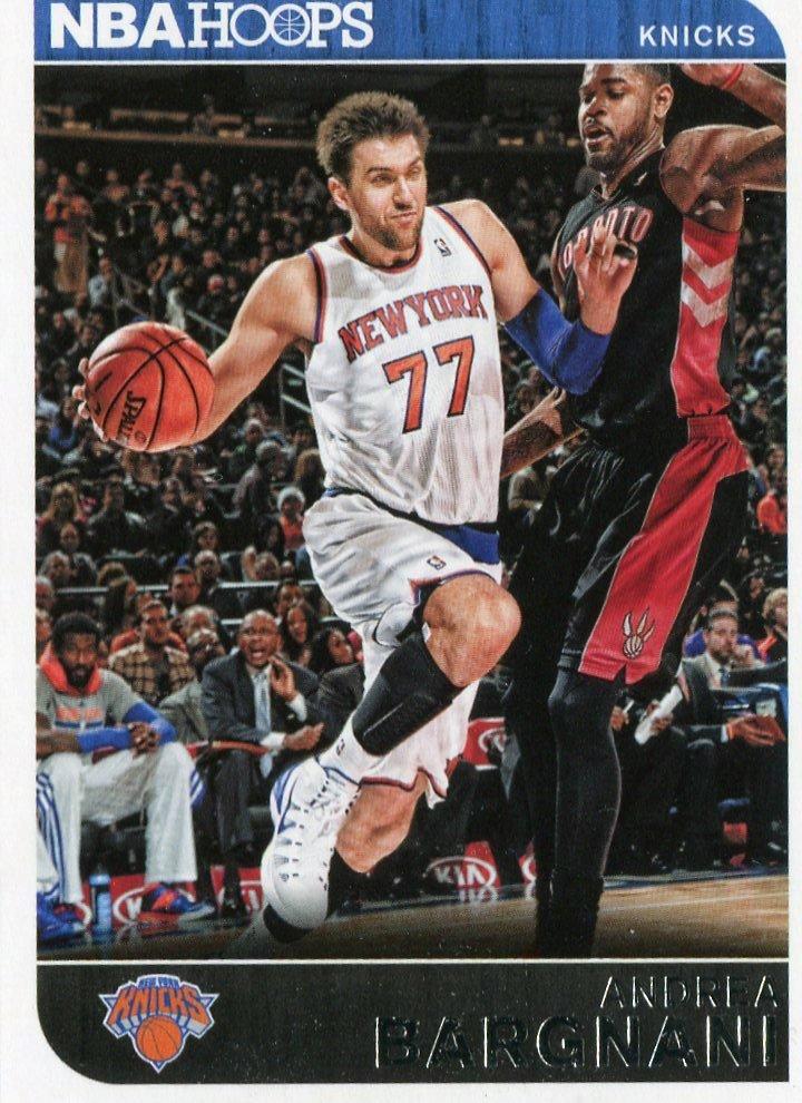 2014 Hoops Basketball Card #52 Andrea Bargnani