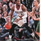 2014 Hoops Basketball Card #76 Wesley Matthews