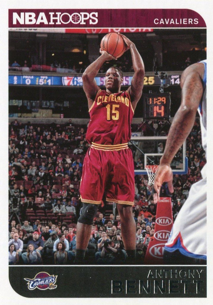 2014 Hoops Basketball Card #85 Anthony Bennett