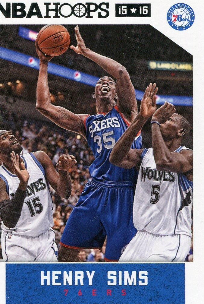 2015 Hoops Basketball Card #161 Henry Sims