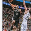 2015 Hoops Basketball Card #207 Cory Joseph