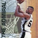 1993 Fleer Ultra Basketball Card Famous Nicknames #14 David Robinson