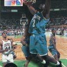 1993 Skybox Basketball Card #4 Larry Johnson