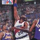 1993 Skybox Basketball Card #8 Oliver Miller
