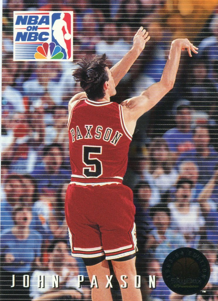 1993 Skybox Basketball Card #21 John Paxson