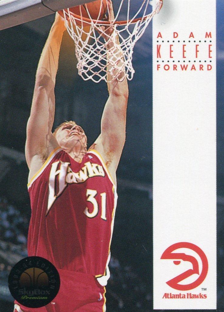 1993 Skybox Basketball Card #27 Adam Keefe