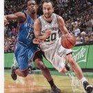 2014 Hoops Basketball Card #88 Manu Ginobli