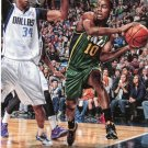 2014 Hoops Basketball Card #90 Alec Burks