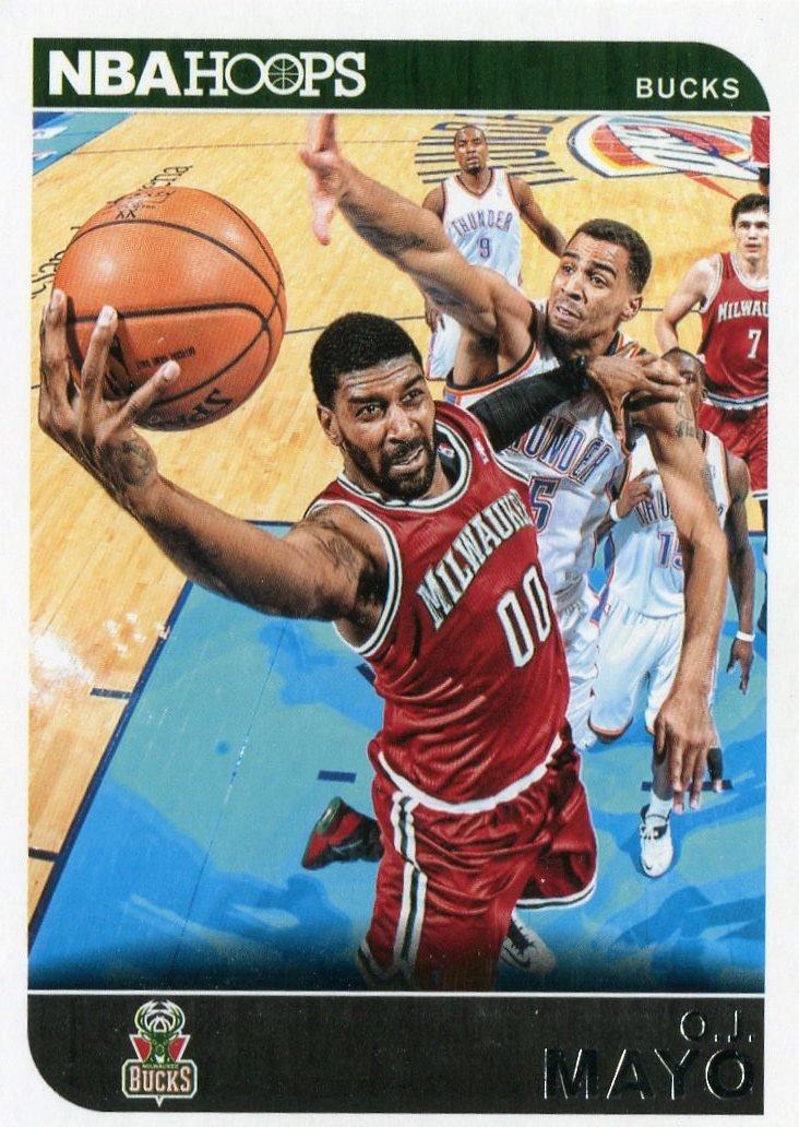 2014 Hoops Basketball Card #120 O J Mayo