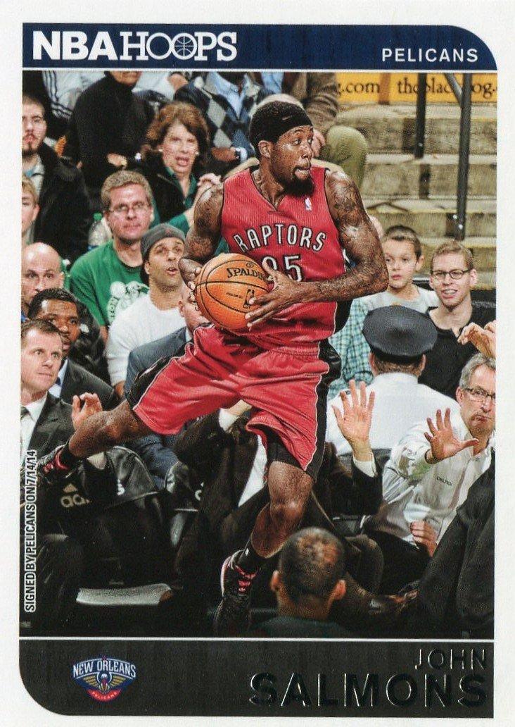 2014 Hoops Basketball Card #122 John Salmons