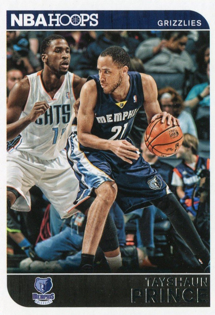 2014 Hoops Basketball Card #128 Tayshaun Prince