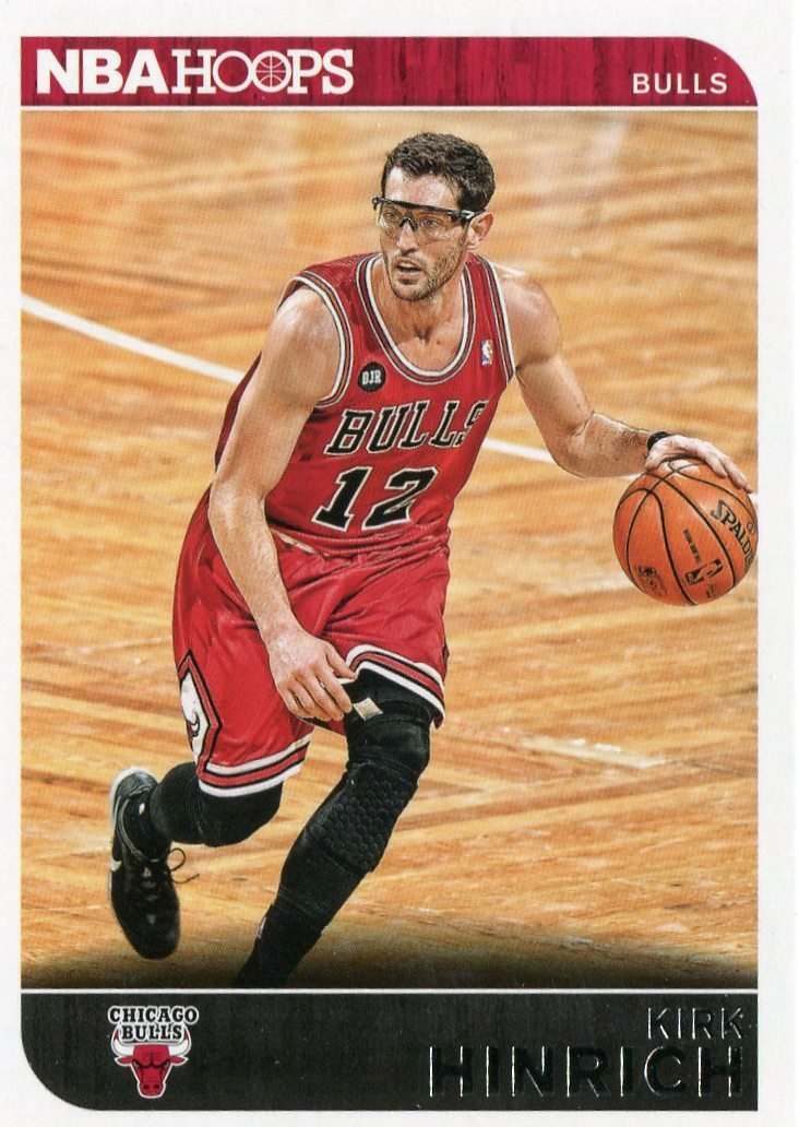 2014 Hoops Basketball Card #141 Kirk Hinrick