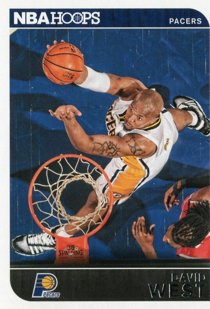 2014 Hoops Basketball Card #144 David West
