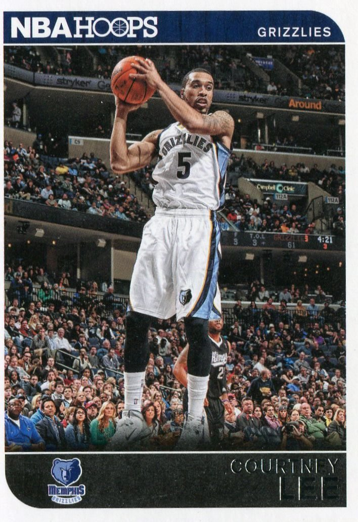 2014 Hoops Basketball Card #158 Courtney Lee