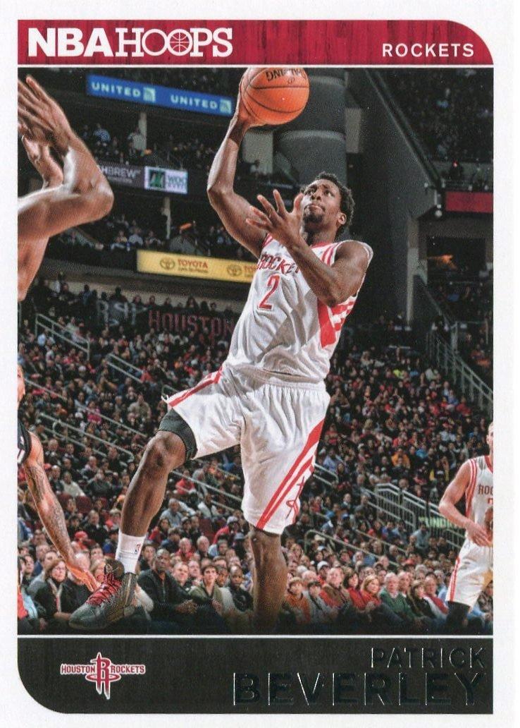 2014 Hoops Basketball Card #173 Patrick Beverly
