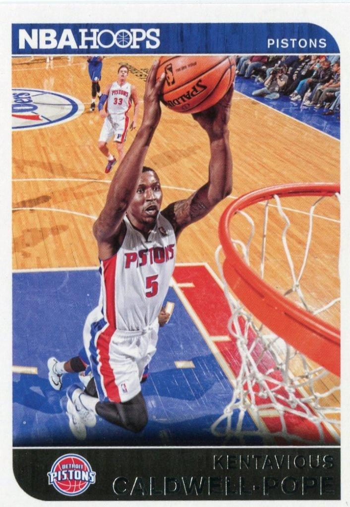 2014 Hoops Basketball Card #207 Kentavious Caldwell-Pope
