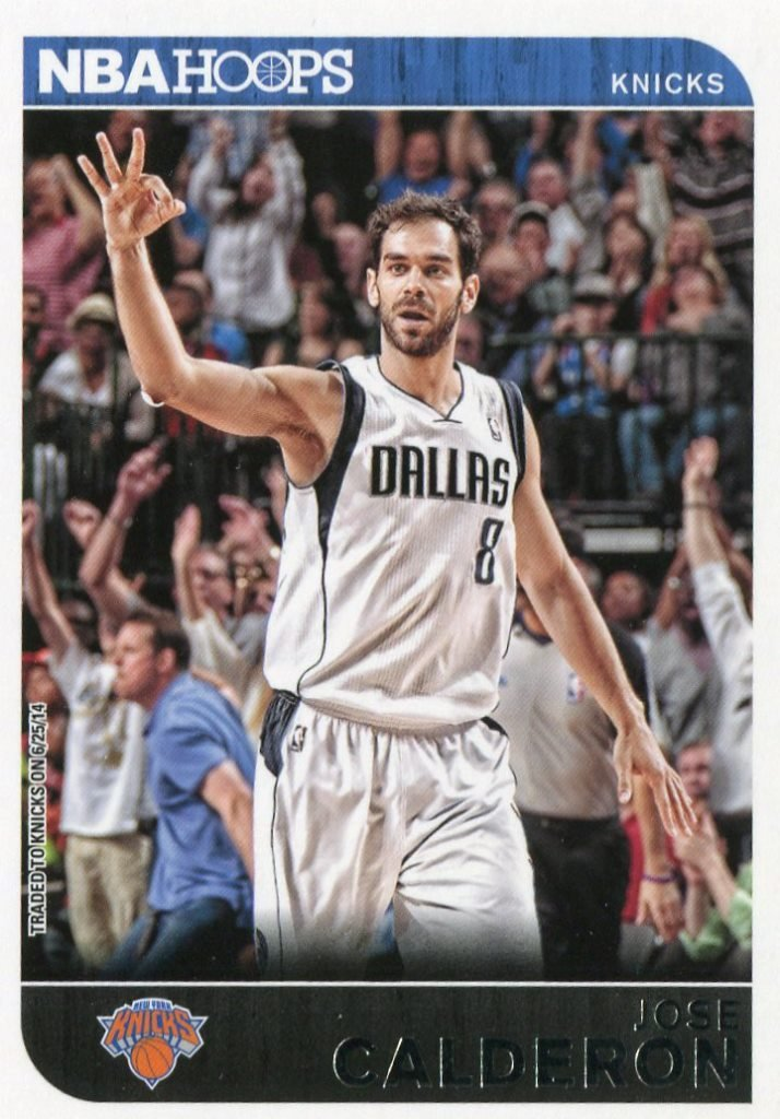 2014 Hoops Basketball Card #225 Jose Calderon