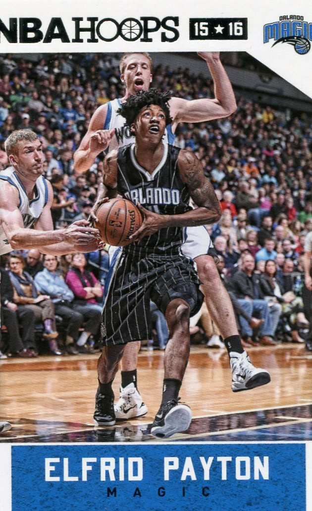 2015 Hoops Basketball Card #229 Elfrid Payton