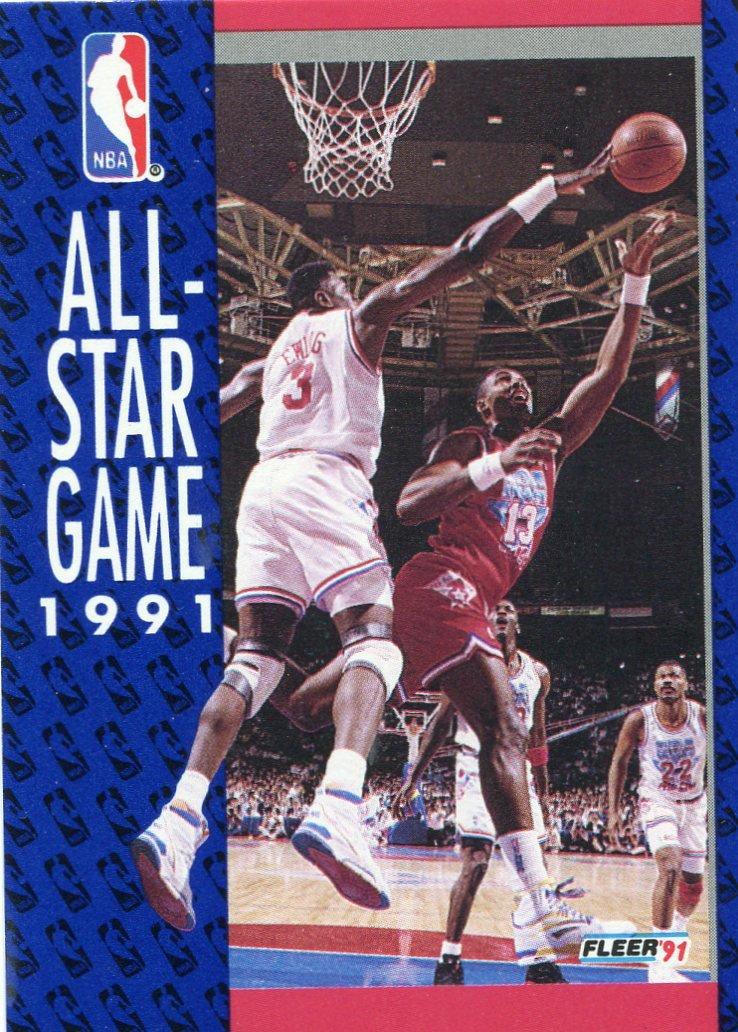 1991 Fleer Basketball Card #236 All Star Game