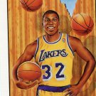 1991 Fleer Basketball Card Pro Vision #6 Magic Johnson