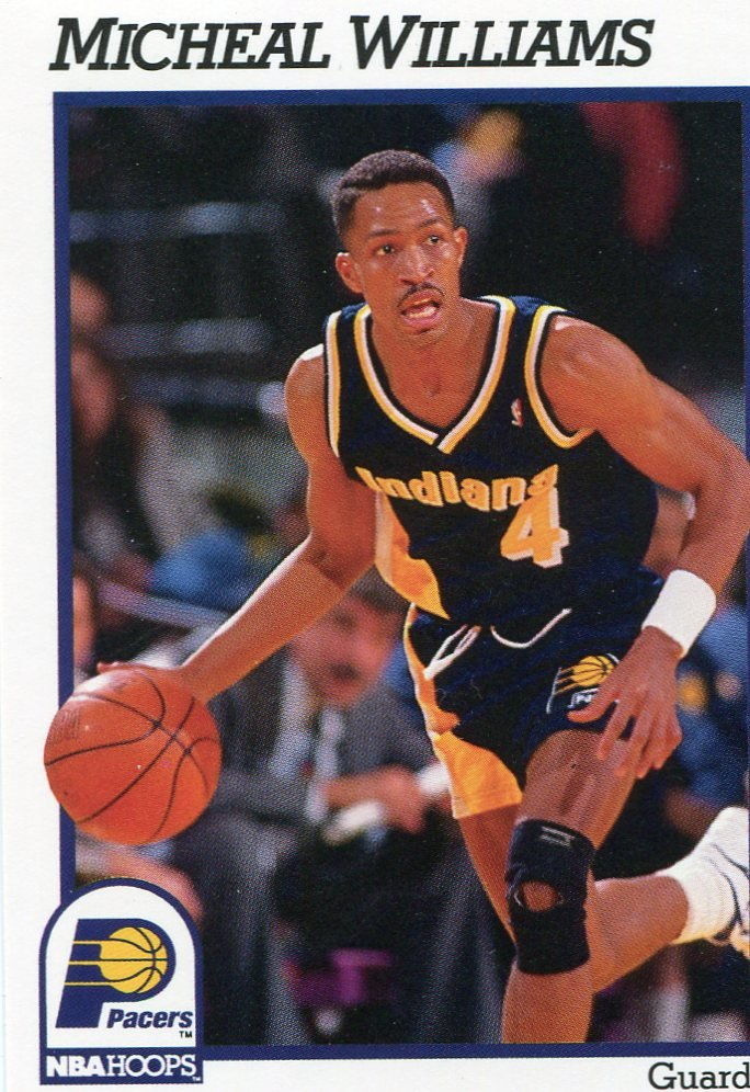1991 Hoops Basketball Card #90 Michael Williams