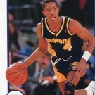 1991 Hoops Basketball Card #90 Michael Williams