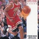 1993 Skybox Basketball Card #42 B J Armstrong