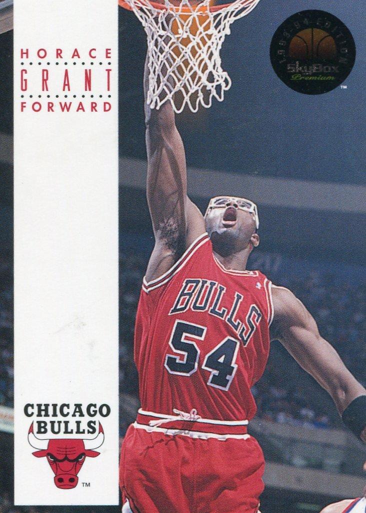 1993 Skybox Basketball Card #44 Horace Grant